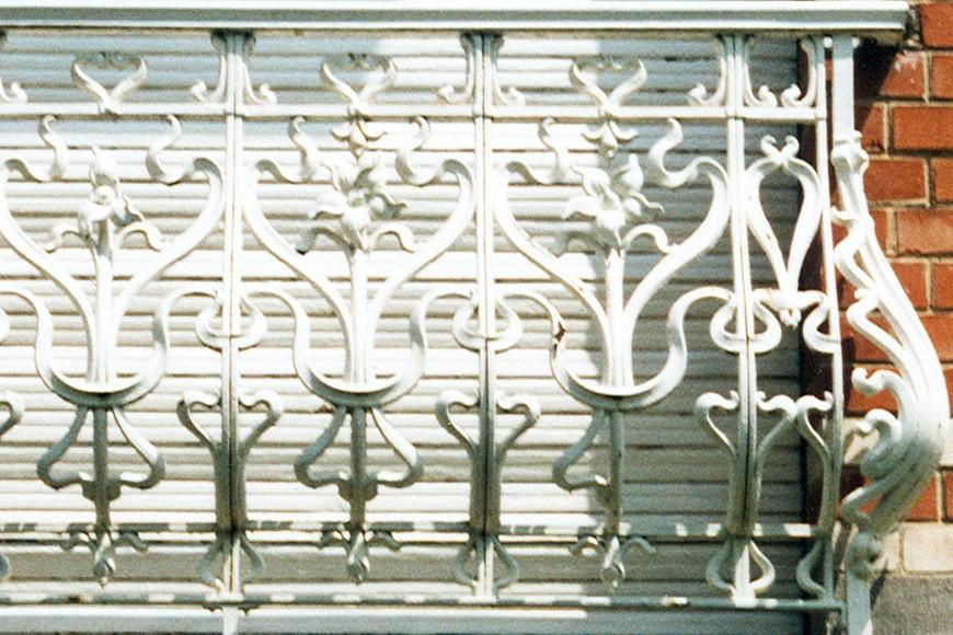 Garde-corps en fonte, av. des Orangers 12, Woluwe-Saint-Pierre, 1911, architecte Victor Janssen., 2003