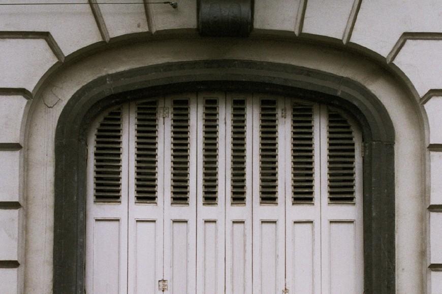 Fenêtre à arc en anse de panier, rue Potagère 77, Saint-Josse-ten-Noode, 1864., 2005
