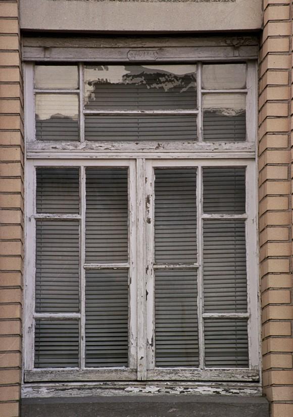 Châssis à petits-bois, rue des Champs 16, Etterbeek, 1933., 2005