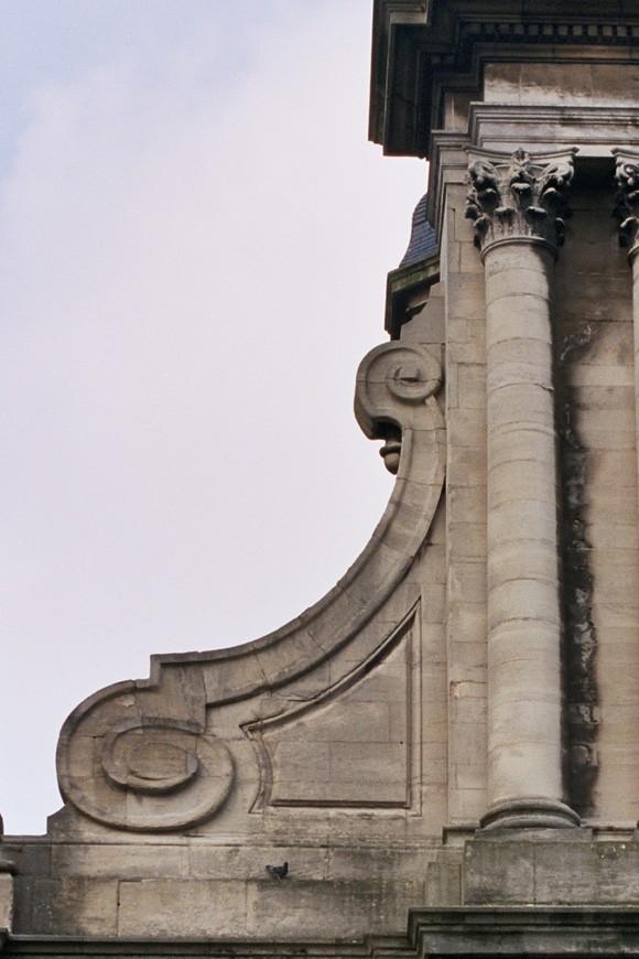 Aileron, église Saint-Josse, chaussée de Louvain 99, Saint-Josse-ten-Noode, 1864, architecte J. F. Vander Rit succédé par J. J. Van Ysendijck., 2005