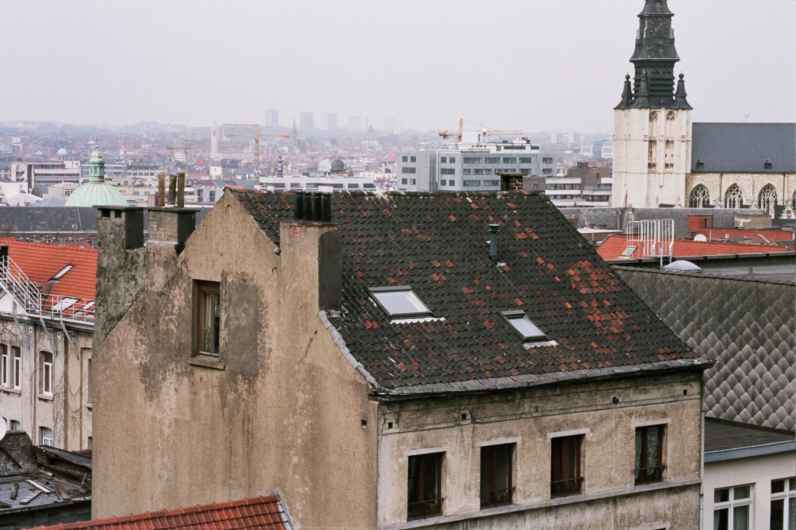 Toiture en bâtière, rue des Minimes 93, Bruxelles, 1840., 2005