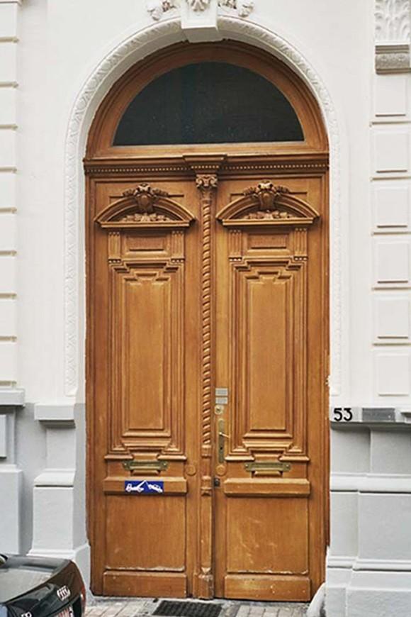 Porte cochère, rue d\'Angleterre 53, Saint-Gilles, 1875, architecte Jean De Somme., 2004