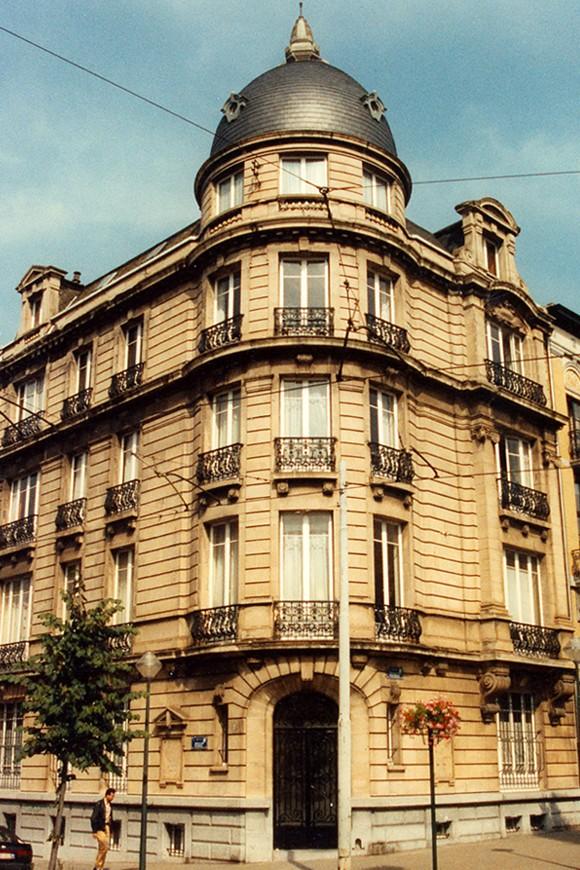 Hoektoren, Adolphe Demeurlaan 35, Sint-Gillis, 1903, arch. Louis Margerie., 1993