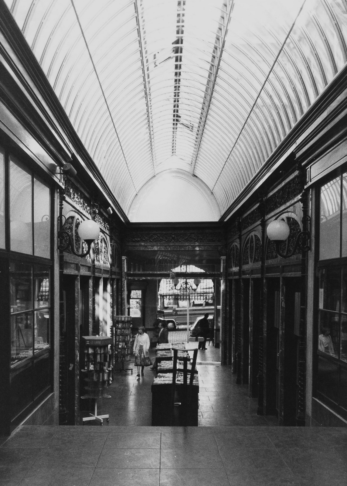 Bortiergalerij en voormalige Magdalenamarkt., 1980