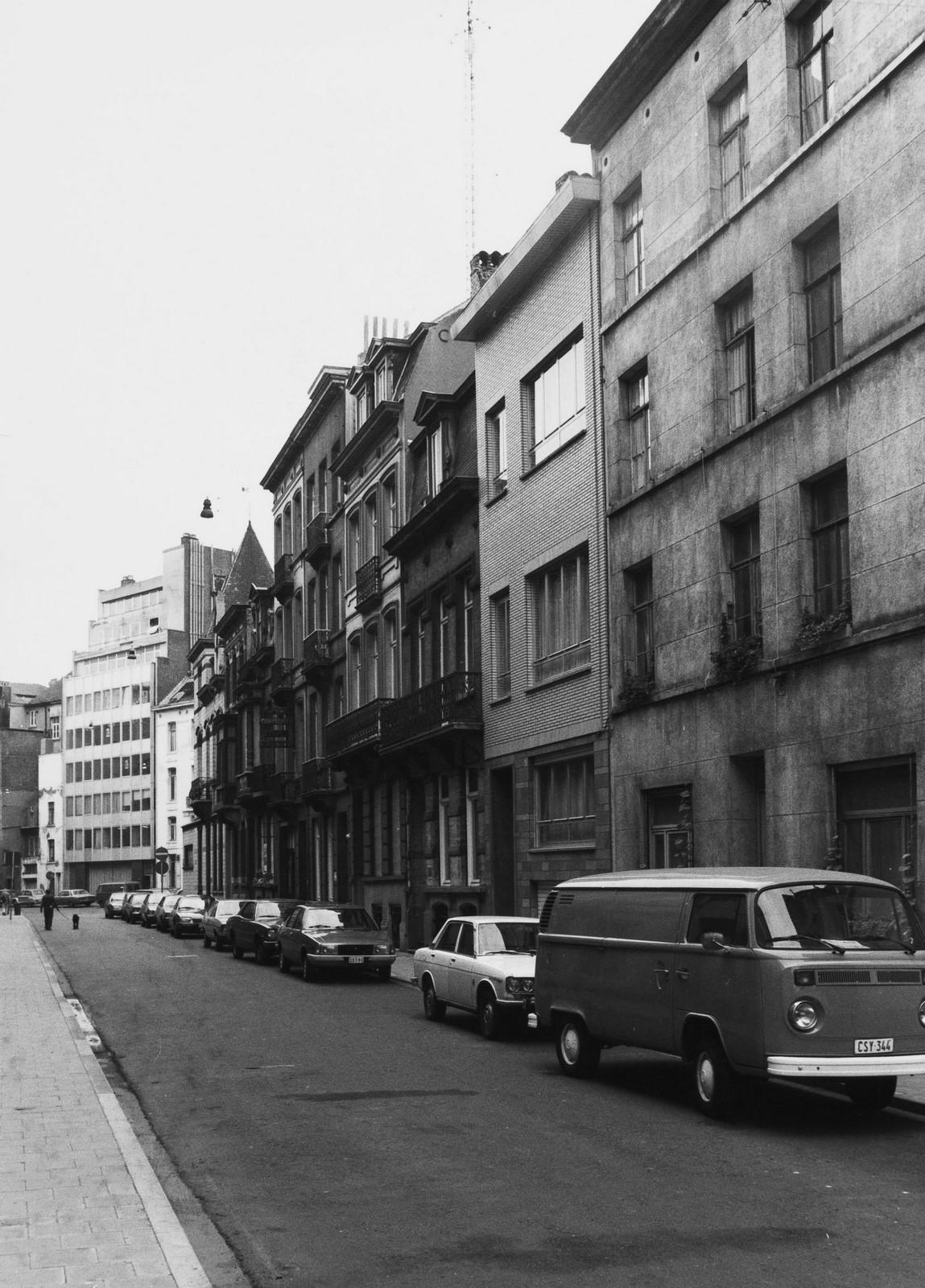 Rue d'Artois 2 à 22, aspect rue, 1979