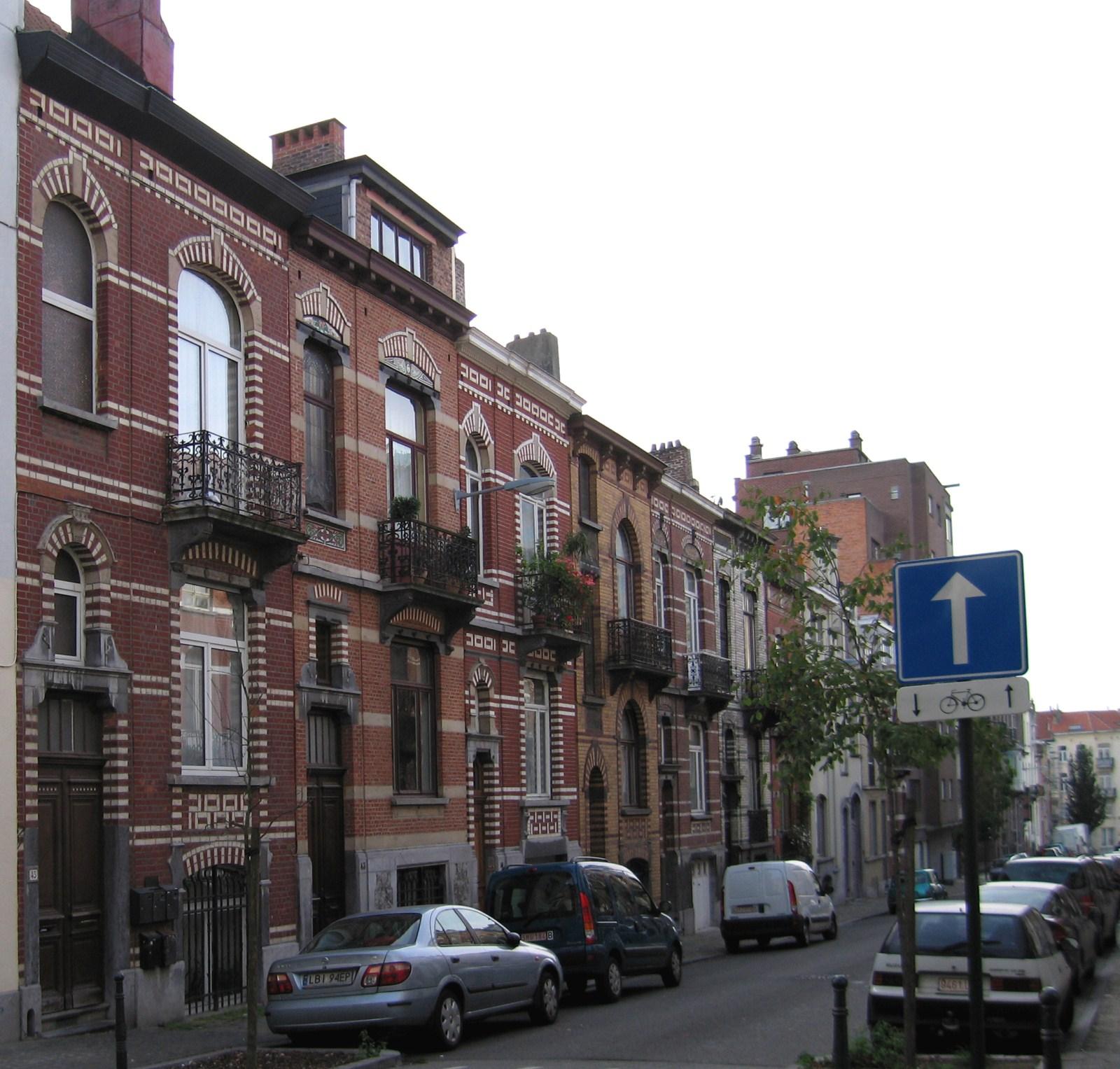 Rue de l'Abdication, côté impair., 2006