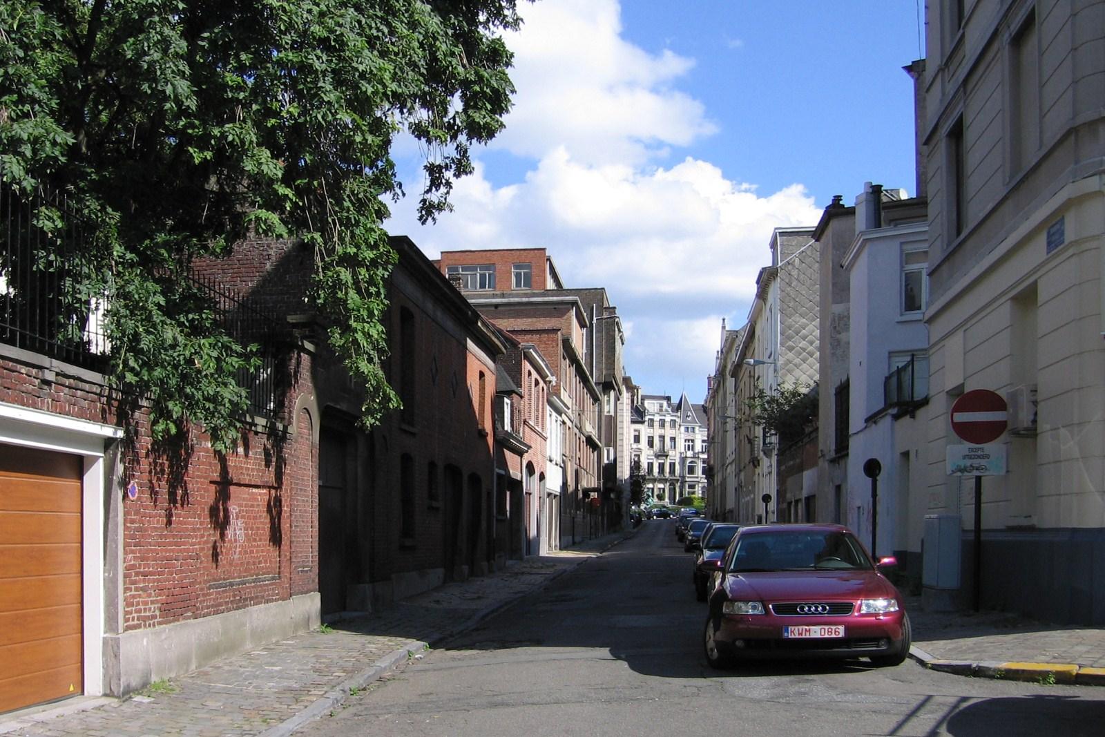 Rue Boduognat, vue vers l'avenue Palmerston., 2007