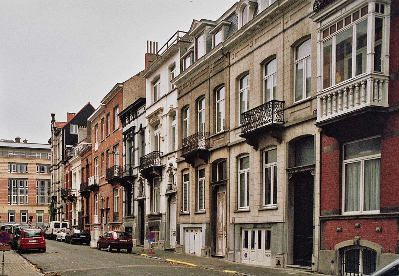 Rue Rembrandt, côté impair, vers l\'École Royale militaire., 2009