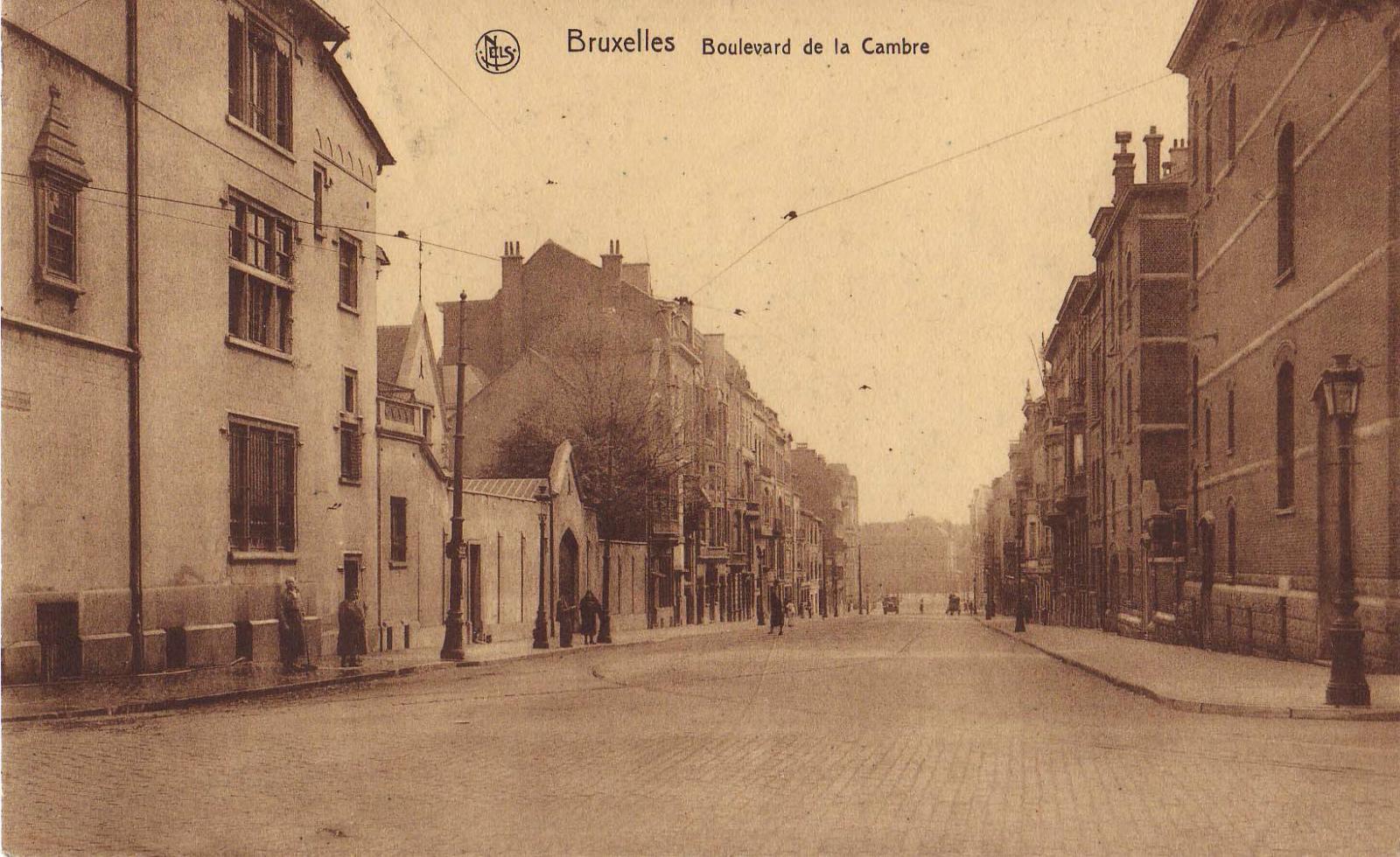 Boulevard de La Cambre, s.d. (Collection cartes postales Dexia Banque).