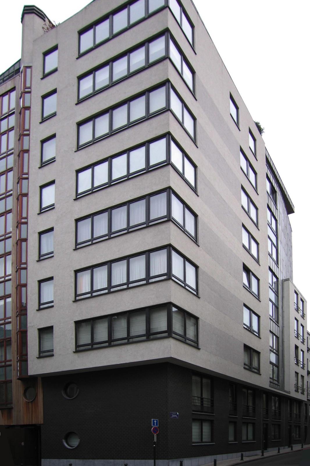 Rue du Président 71, à l\'angle de la rue de la Longue Haie., 2005