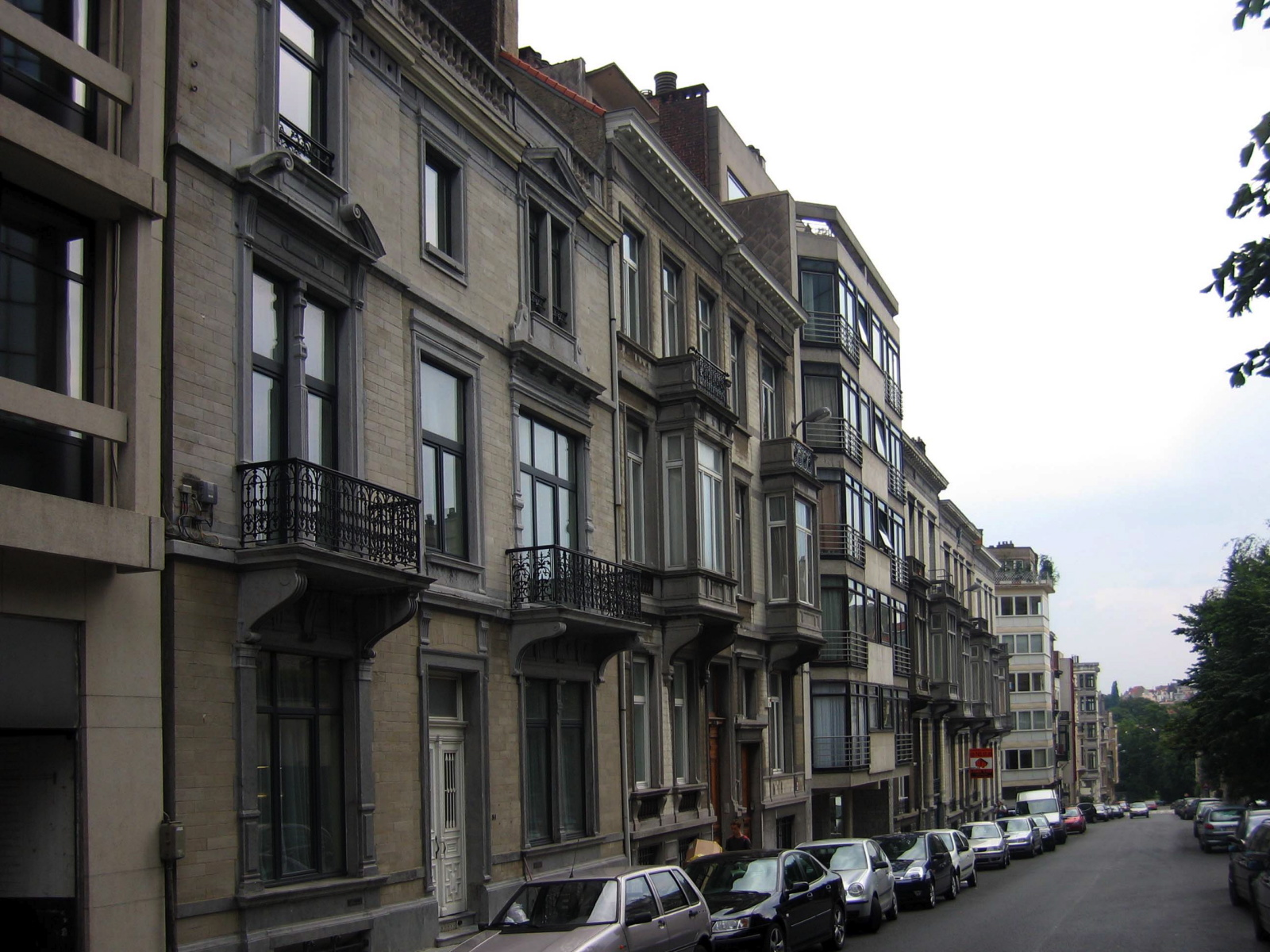Rue Vilain XIIII 51 à 31., 2005