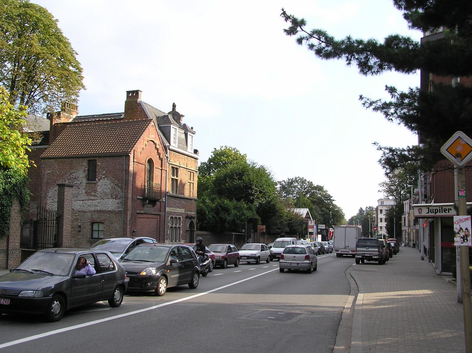 Chaussée de Waterloo, côté pair., 2007