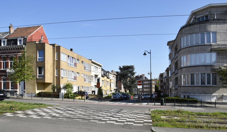 Avenue Adrien Bayet, vue depuis l'avenue Rommelaere© ARCHistory / APEB, 2018