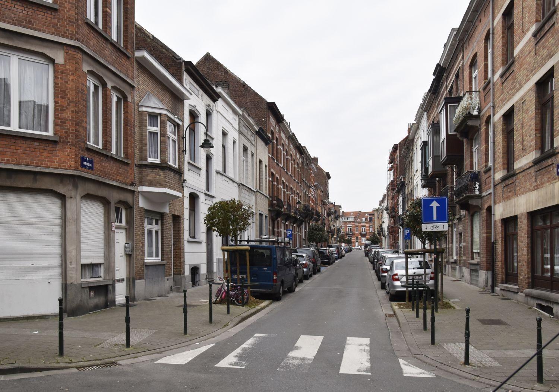 Rue Breesch, vue depuis la rue Thys-Vanham© ARCHistory / APEB, 2018