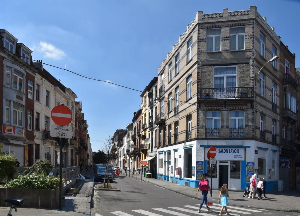Rue du Champ de la Couronne, vue depuis le boulevard Bockstael vers l'ouest© (© APEB, 2017)