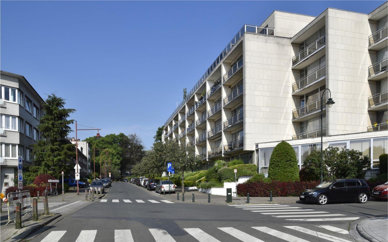 Avenue Eugène Hubert, vue vers l'avenue Ernest Masoin© ARCHistory / APEB, 2018