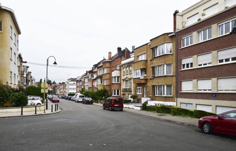 Avenue du Fusain, vue depuis l'avenue des Croix du Feu© ARCHistory / APEB, 2018