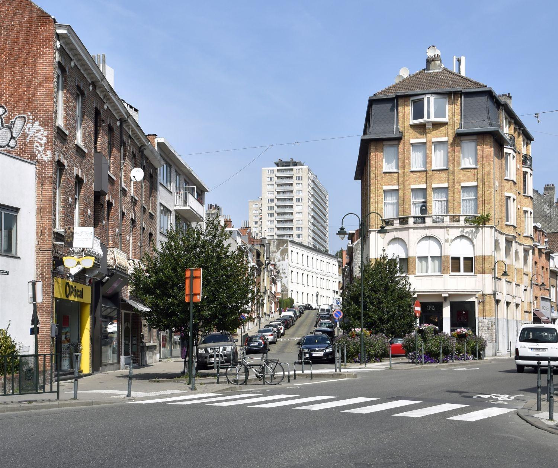 Rue Gustave Demanet, vue depuis la Rue De Wand© ARCHistory / APEB, 2018