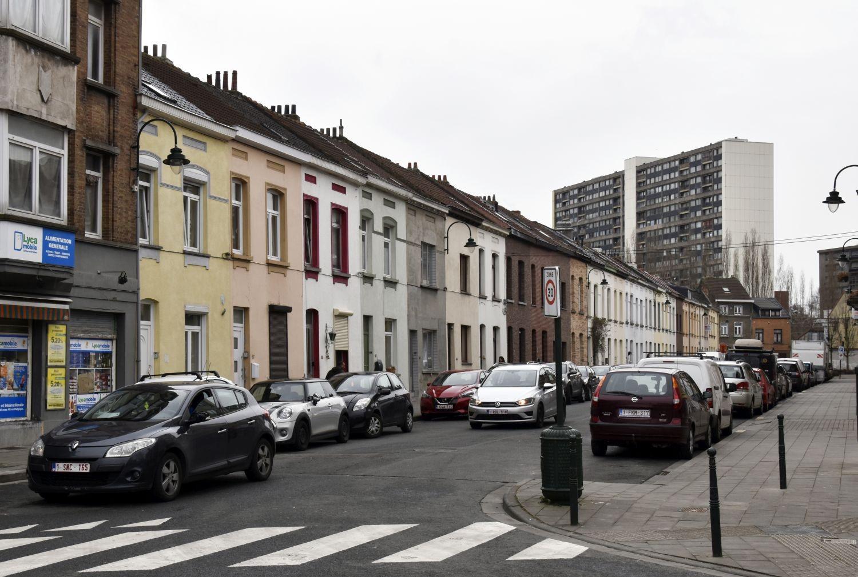 Rue Ledeganck, vue du côté pair depuis le square Léopold© ARCHistory / APEB, 2018