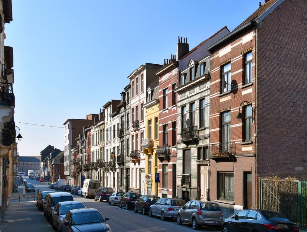 Rue de Moorslede, vue vers la rue Dieudonné Lefèvre, 2016