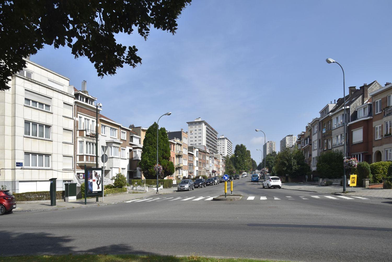 Avenue Mutsaard, vue du début de l'artère vers le nord© ARCHistory / APEB, 2018