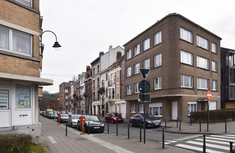 Rue Pierre Strauwen, vue du côté pair depuis le square Léopold© ARCHistory / APEB, 2018