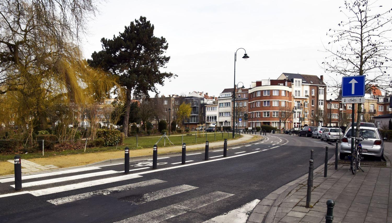 Prins Leopoldsquare vanuit de Charles Ramaekersstraat in noordelijke richting© ARCHistory / APEB, 2018