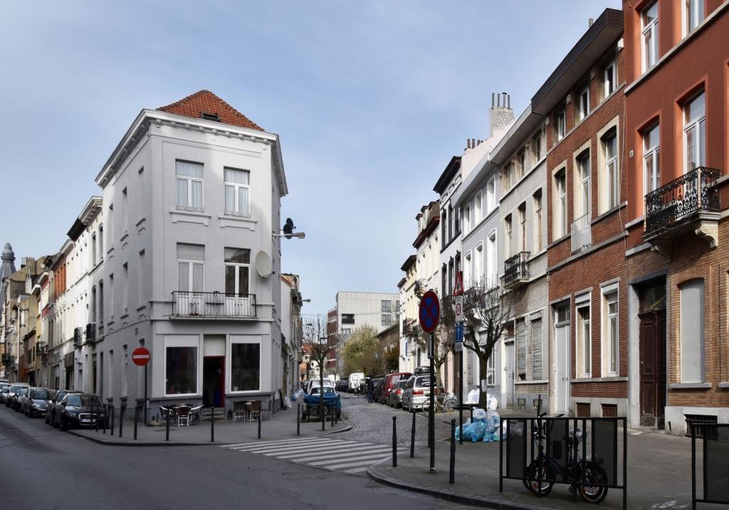 Rue Princesse Clémentine, vue depuis la rue du Champ de l'Église, 2017