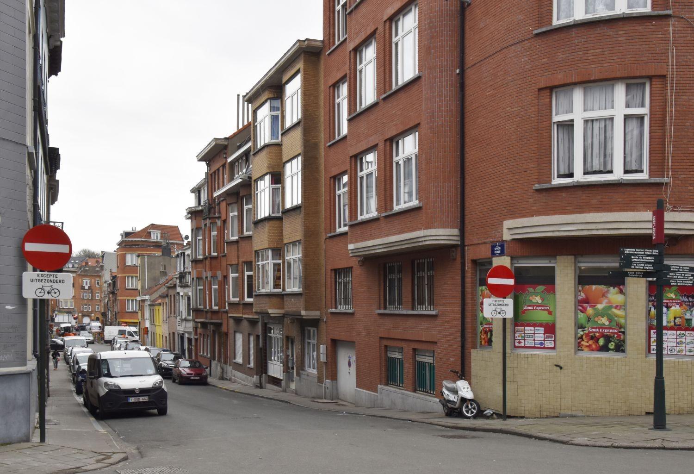 Rue du Siphon, vue du côté pair depuis la rue du Champ de la Couronne© ARCHistory / APEB, 2018