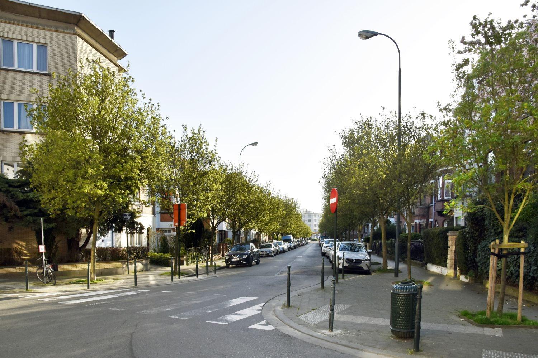 Rue Stuyvenbergh, vue depuis la rue Théophile de Baisieux© ARCHistory / APEB, 2018