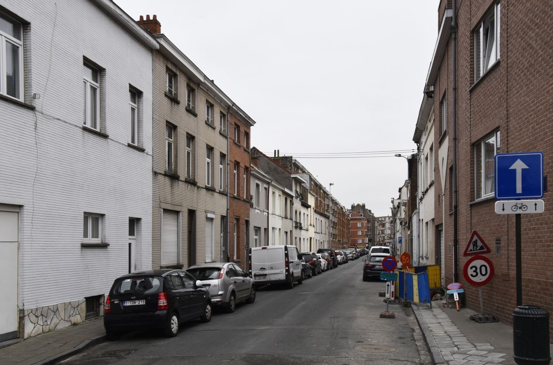 Rue de Ter Plast, vue depuis la rue Alfred Stevens© ARCHistory / APEB, 2018