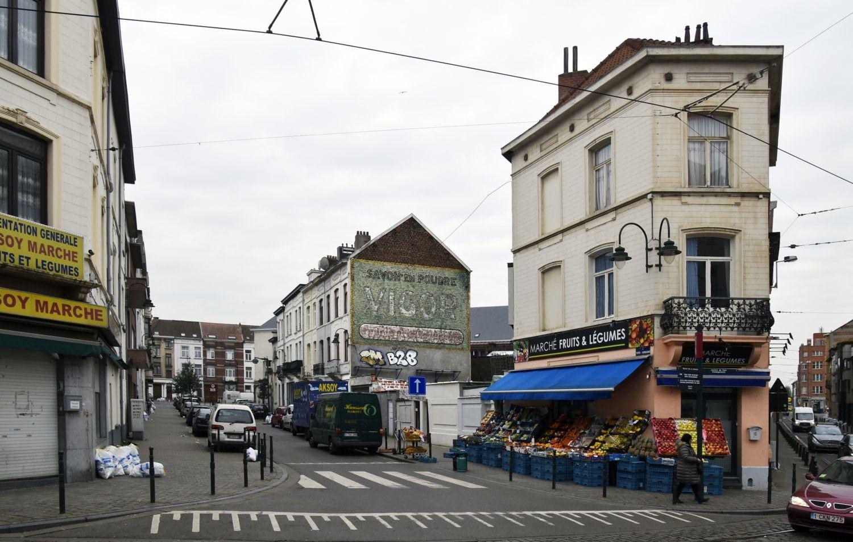 Rue Thys-Vanham, vue depuis la rue Fransman© ARCHistory / APEB, 2018
