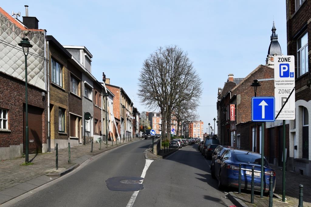 Rue Tielemans, vue depuis le boulevard Émile Bockstael, 2017