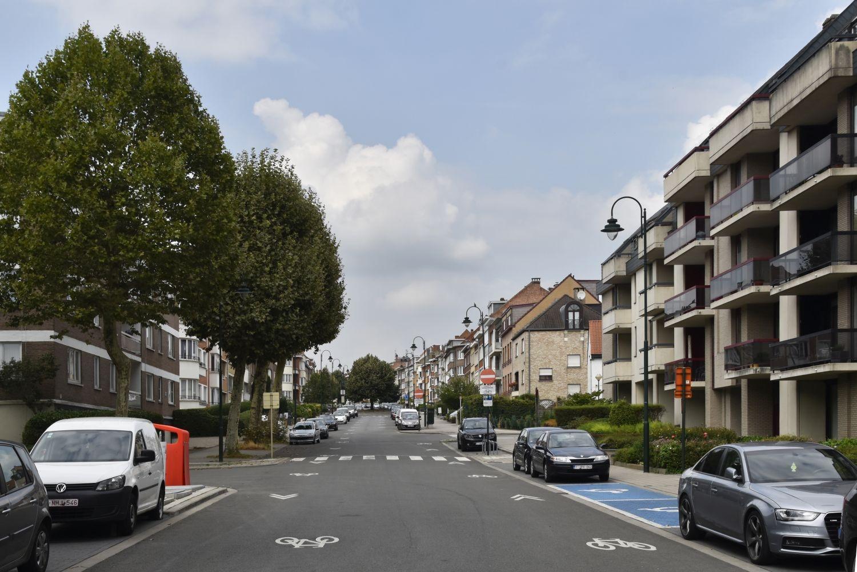 Avenue des Pagodes, vue depuis l'avenue des Croix du Feu© ARCHistory / APEB, 2018