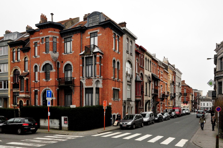 Rue de Linthout, vue depuis la rue d'Oultremont vers l'avenue Georges Henri, 2012