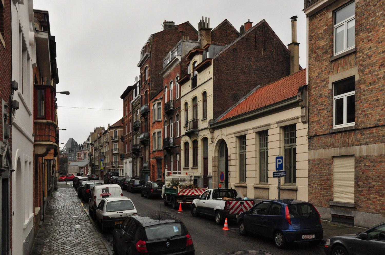 Rue du Radium, côté pair depuis l'avenue du Diamant , 2011
