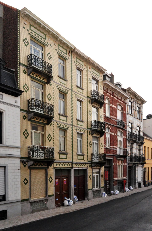 Rue Rasson 51 à 43-45, 2012