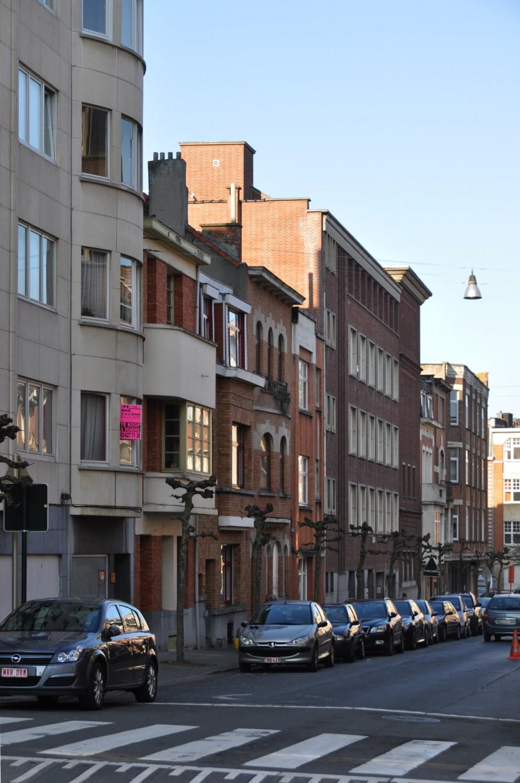 Rue du Saphir, vue du premier tronçon côté impair, 2011