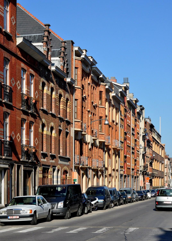 Victor Hugostraat, tweede straatgedeelte aan onpare zijde, 2011