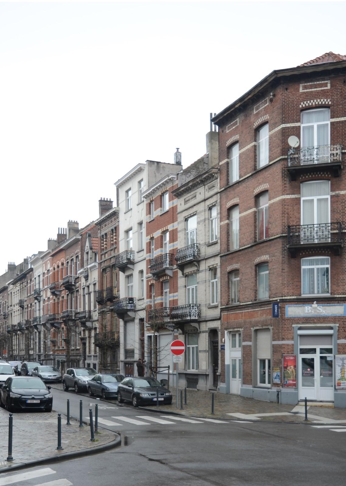 Rue Henri Bergé, premier tronçon pair, 2012