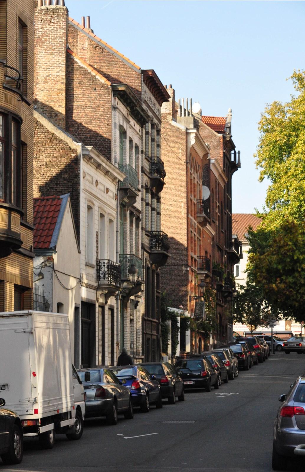 Voglerstraat, pare zijde vanop het Poggeplein, 2011