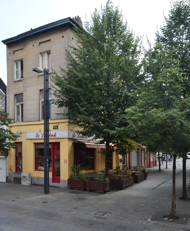 Rue Allard, vue depuis la rue d'Aerschot, 2014