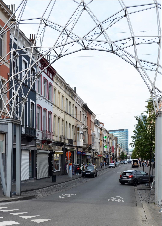 Brabantstraat, zicht vanaf het Liedtsplein, 2014