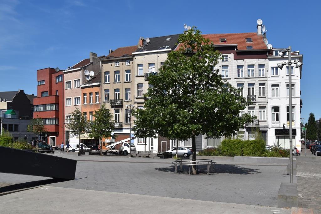 Place Gaucheret, vue vers le nord, 2016