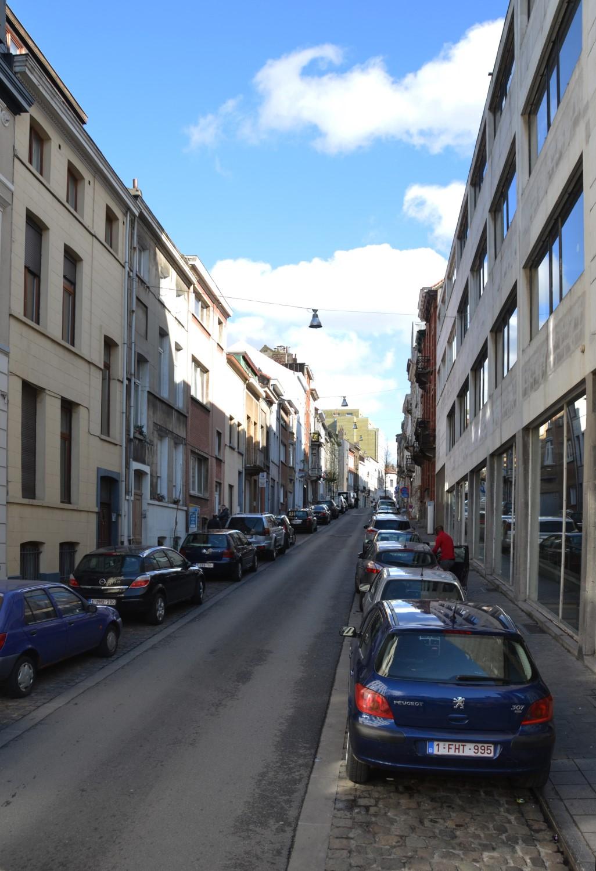 Rue Lefrancq, vue depuis la rue des Palais, 2014