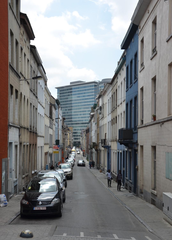Rue Linné, vue depuis la rue Dupont, 2014