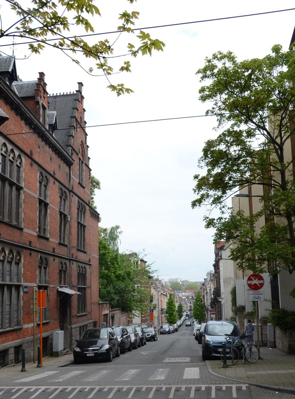 Rue de l'Est, vue depuis la chaussée de Haecht, 2014
