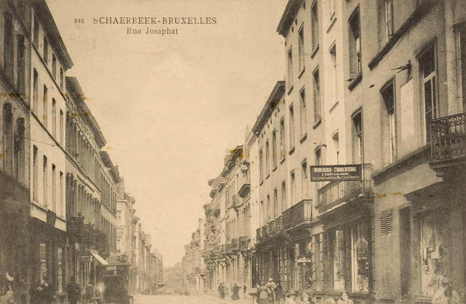 Rue Josaphat© (Collection Dexia Banque-ARB-RBC)