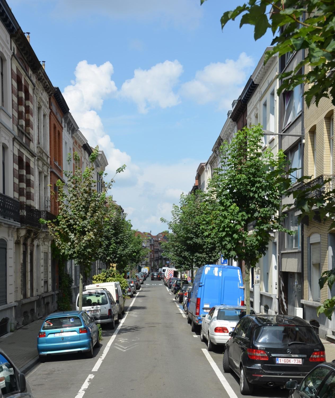 Rue Verboeckhaven, vue vers la rue de la Consolation, 2014