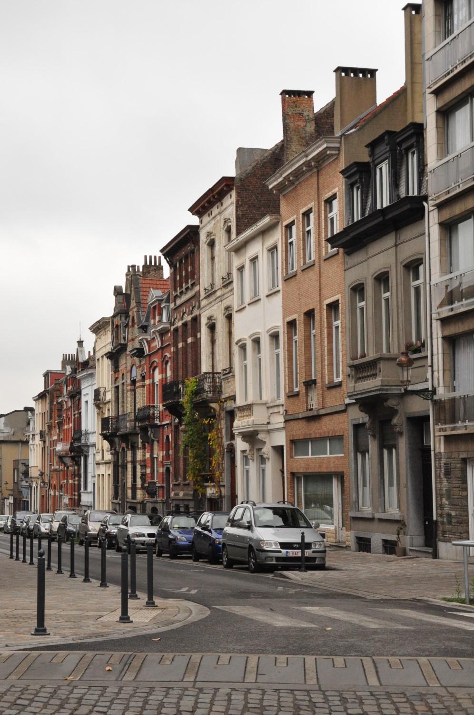 Rue Fraikin, vue depuis l'avenue Maréchal Foch, 2013